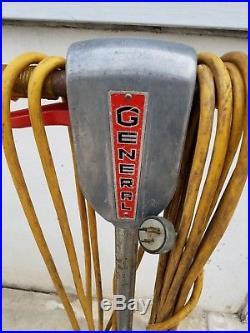 Regina Model E Commercial Floor Polisher Buffer Waxer Twin Brush Pads
