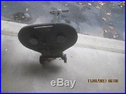 Regina Model E PROFESSIONAL Floor Polisher Buffer Waxer Twin Brush Pads