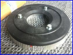 Rotary Floor Scrubber Brush White Medium Stiff Bristles Vaclensa Buffer Pad Velc