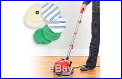 Surface Mini Buffer Polisher Pads Kit Professional Floor Scrubber Commercial NEW