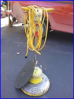 Thoroughbred 20 Low Speed Floor Polisher Scrubber + Pad/local Pickup Mich 48334