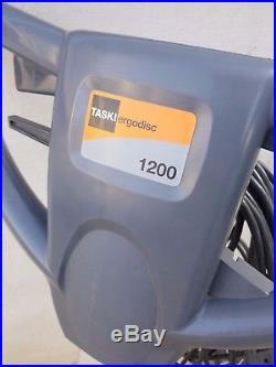 Taski Ergodisc 1200 Type 50 SHSC Electric Floor Buffer and mixed Pads