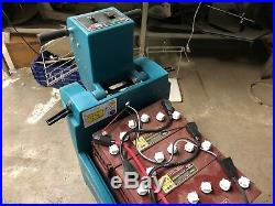 Tennant 2510 Battery Floor Machine Burnisher Buffer with Batteries and Pad