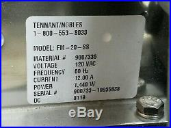 Tennant Nobles FM-20-SS Floor Machine Single Speed Buffer with Pad Driver New