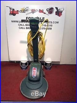 Used Nobles 1200 RPM 20 Floor Buffer Burnisher Cleaning Polisher Scrubber Pad