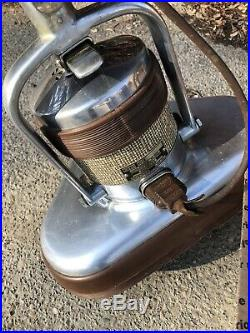 VINTAGE 1956 ELECTROLUX BX5 Floor Polisher Pads Brushes Stainless Steel Working