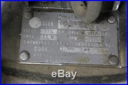 Vintage Tornado Floor Polisher Buffer 1725 RPM 11.5 Amp Works Great & Pads