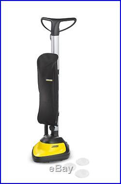 Vacuum Scrubber Brush Machine Pad Floor Polisher Electric Board Concrete Cleaner