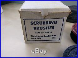 Vintage Brushes & Pads for Electrolux Floor Polisher Buffers Wax Shampoo