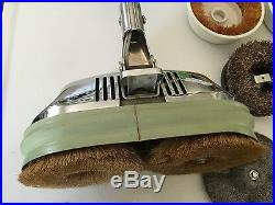 Vintage Chrome General Electric Ge Floor Buffer Scrubber