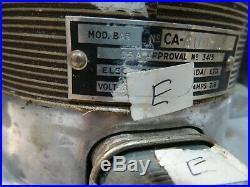 Vintage Electrolux BA5 Triple Action Floor Polisher Waxer Buffer Pads Working