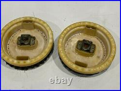 Vintage Hoover 5464 Floor Polisher hard pads plastic
