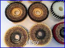 Vintage Hoover Floor-a-matic Brushes / Pads Rug & Floor Shampooer Polisher