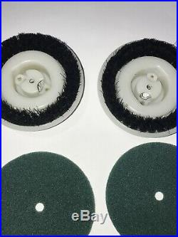 Vintage Regina Pads And Scrub Brushes Only Floor Polisher