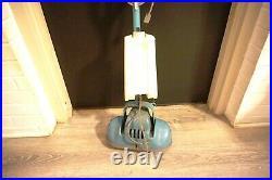 Vintage SHETLAND Floor Polisher Scrubber in Blue Model TA-15 NO PADS / BRUSHES