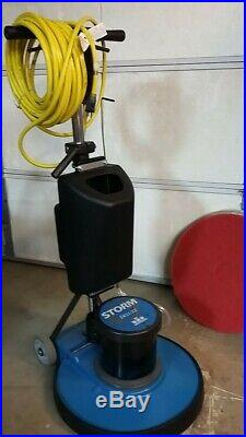 WINDSOR STORM 20 175 rpm 1.5 HORSEPOWER PRE OWNED FLOOR MACHINE with PAD DRIVER