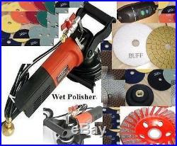 Wet Polisher Polishing 16 Pad Buff Grinding Cup Stone Concrete slabs floor tile