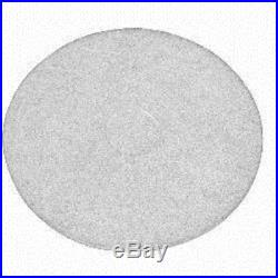White Floor Pads 15 Floor Buffer / Polisher Polish Pads 1 Thick 5 Pack