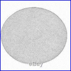 White floor buffer pads for 17 floor buffer pads
