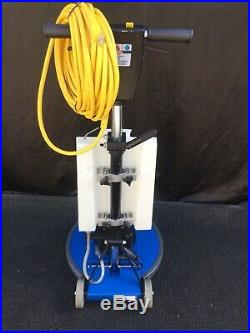 Windsor Storm Deluxe Walk Behind Floor Scrubber With Driver Pad & Brush New